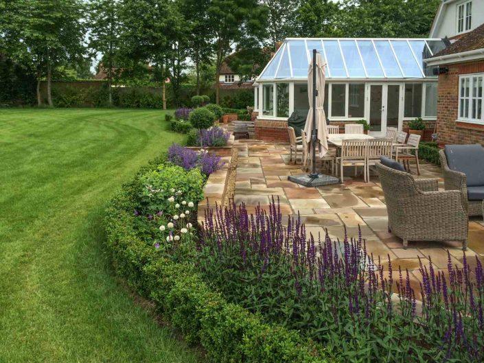 Traditional garden design